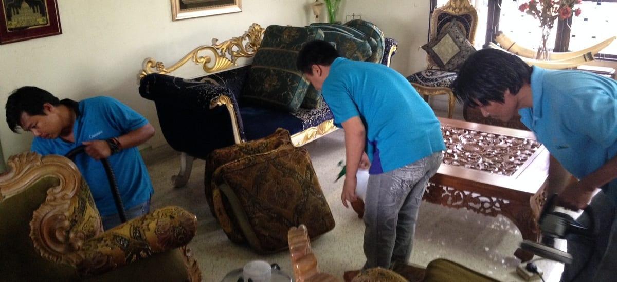 Dịch vụ giặt ghế sofa chuyên nghiệp