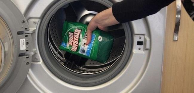 cách dùng bột vệ sinh lồng giặt