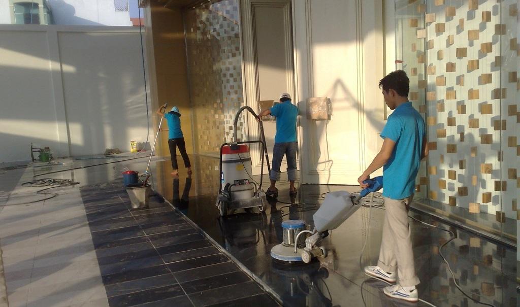 Dịch vụ vệ sinh công nghiệp tại TPHCM