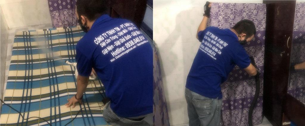 Dịch vụ giặt nệm TPHCM