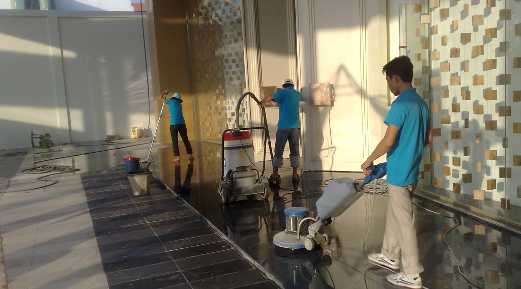 Quy trình vệ sinh công nghiệp - 1