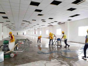 Quy trình vệ sinh công nghiệp sau xây dựng mà bạn nên biết